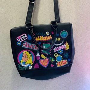 DISNEY Alice In Wonderland across Body Bag